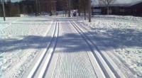 Det går mor en annerledes påske for mange, men på Åstjønna finner du oppkjørte skispor.